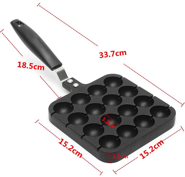 Размеры сковородки для перепелиных яиц