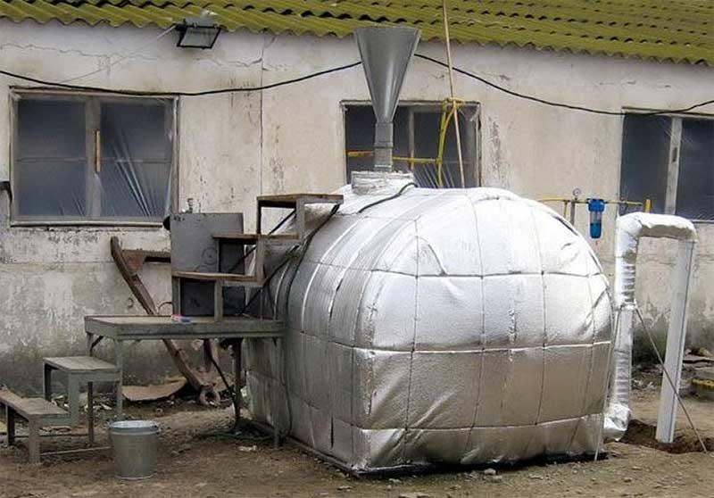 Скачать Проект Биогазовой Установки