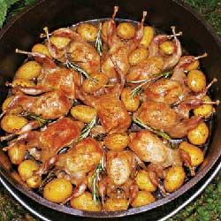 блюда из перепелок рецепт с фото