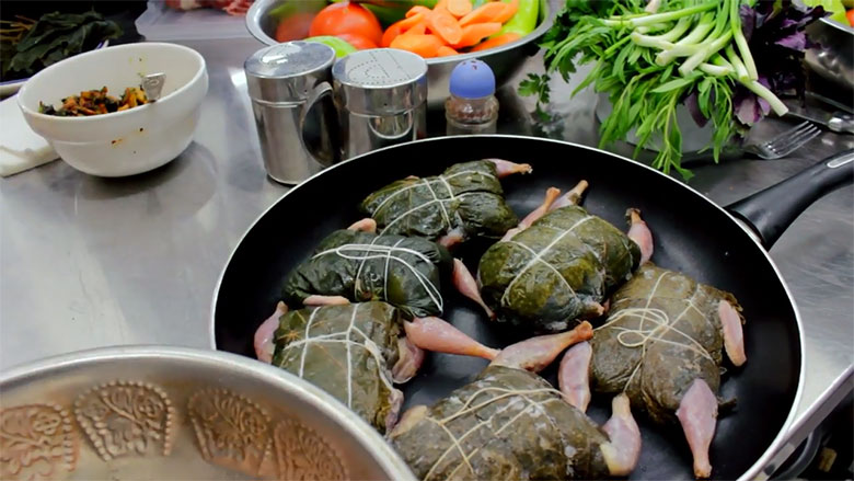татарский рецепт приготовления перепелов