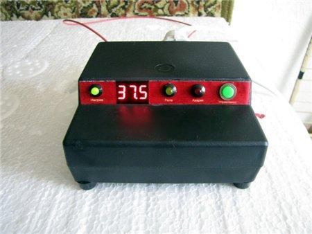 Цифровой терморегулятор для